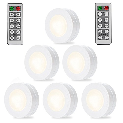 Solled Wireless Led Puck Lights Kitchen Under Cabinet